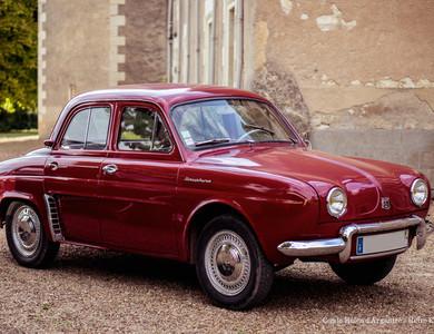 Renault Dauphine à Angers (Maine-et-Loire)