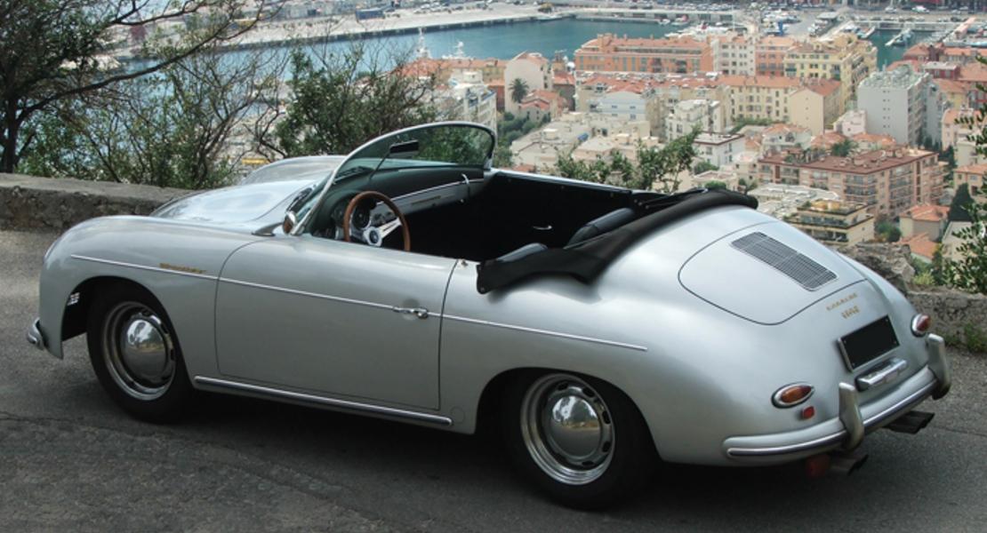 location de porsche 356 speedster 1956 nice 499 roadstr. Black Bedroom Furniture Sets. Home Design Ideas