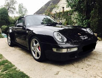 Porsche 911 Type 993 Turbo à Paris (4ème arr.)