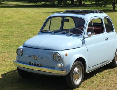 Fiat 500 à Orléans (Loiret)