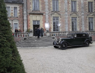 Rolls Royce 20/25 à Orléans (Loiret)