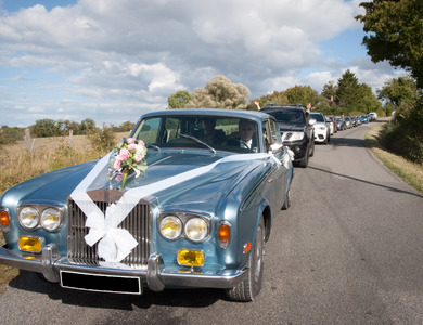 Rolls Royce Silver Shadow à Héricy (Seine-et-Marne)