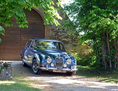 Jaguar Mk2 à Aurillac (Cantal)