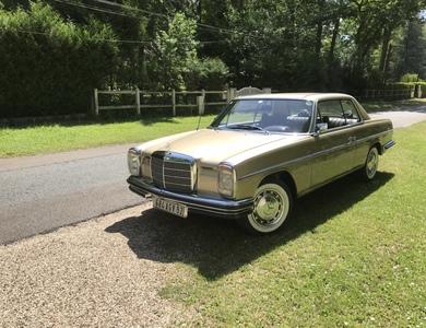 Mercedes-benz 280 Ce (c114) à Attainville (Val-d'Oise)