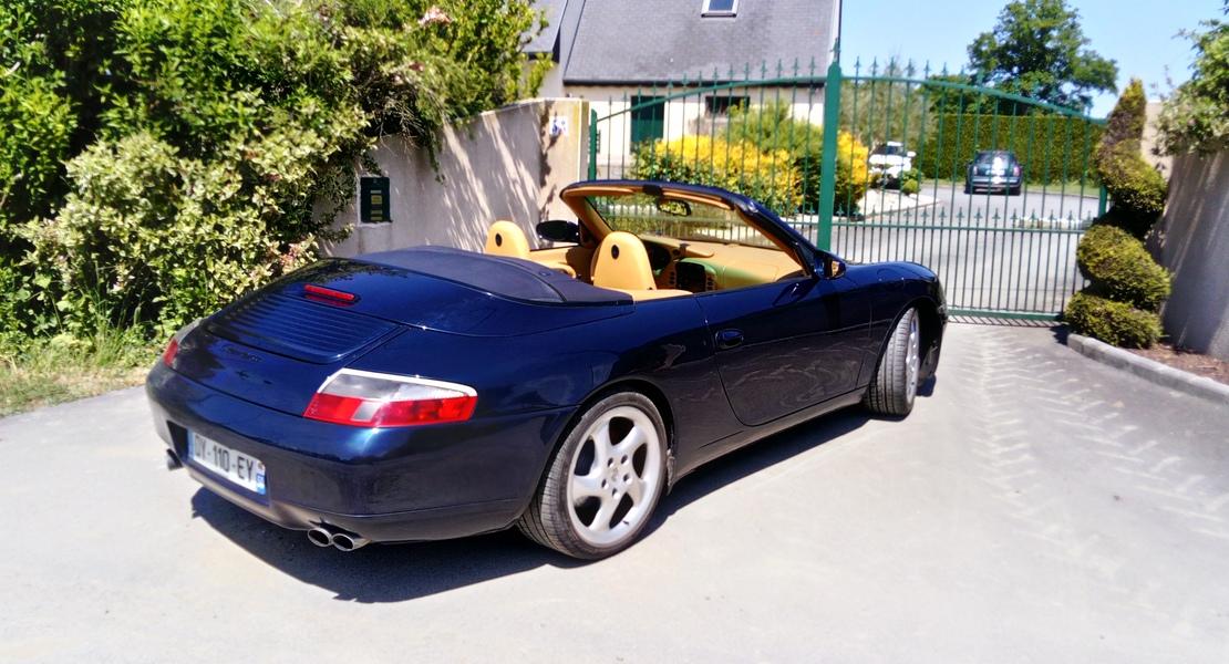 location de porsche 911 type 996 cabriolet 2000  u00e0 pr u00e9cey