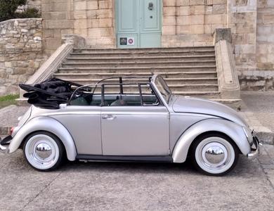 Volkswagen (vw) Coccinelle Cabriolet à Jacou (Hérault)