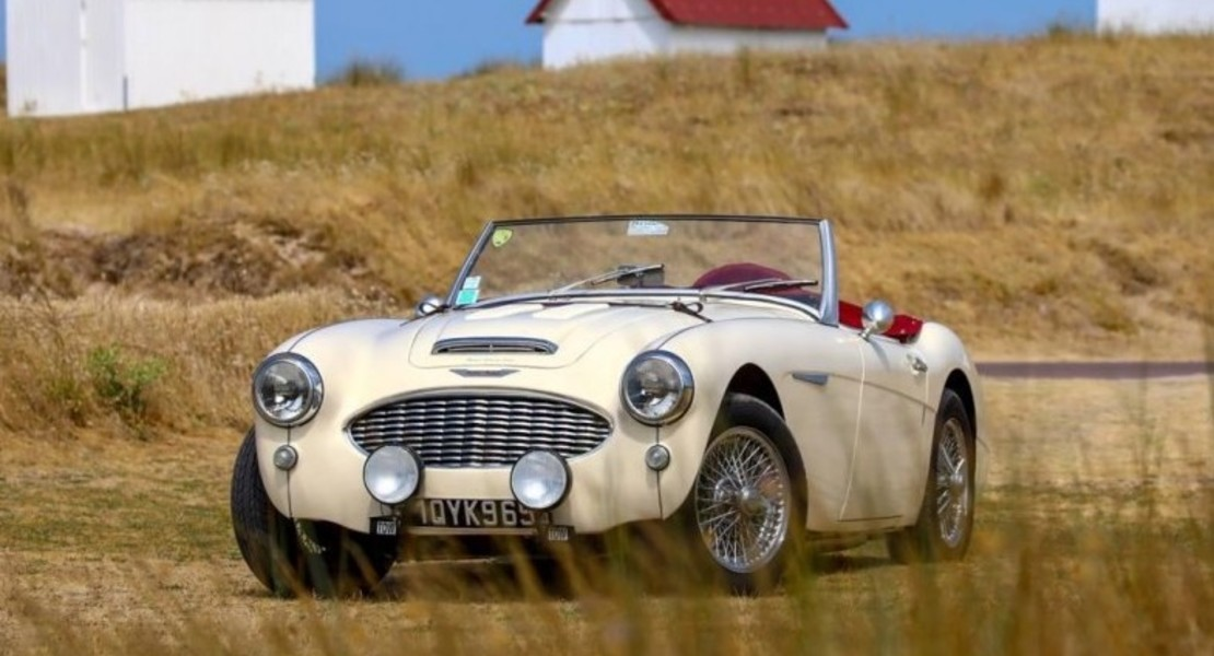 location-AUSTIN HEALEY-Gouville-sur-Mer-roadstr