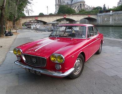 Lancia Flavia Coupé 1800 à Paris (1er arr.)