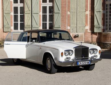 Rolls Royce Silver Shadow à Toulouse (Haute-Garonne)