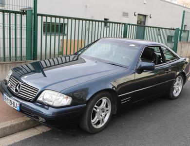Mercedes-benz Sl 320 (r129) à Triel-sur-Seine (Yvelines)