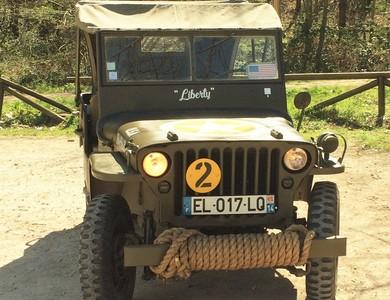 Jeep Willys Overland Mb à Courtomer (Seine-et-Marne)