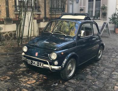 Fiat 500l à Paris (3ème arr.)