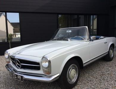 Mercedes-benz 230 Sl Pagode (w113) à Gouville-sur-Mer (Manche)