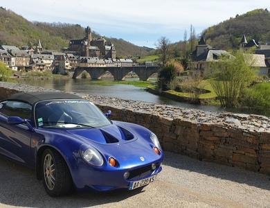 Lotus Elise à Brest (Finistère)
