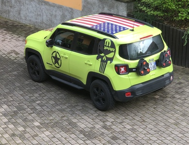 Jeep Renegade Mopar à Metz (Moselle)