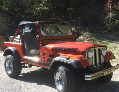 Jeep Cj7 à Saint-Laurent-du-Var (Alpes-Maritimes)