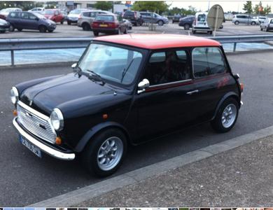 Mini 1000 à Sainte-Colombe-prés-Vernon (Eure)