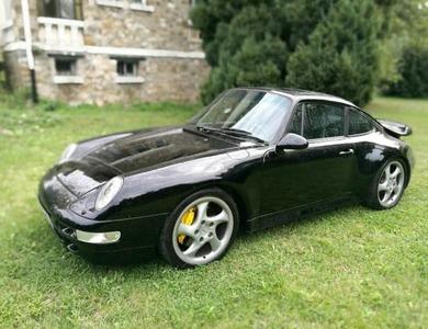 Porsche 911 Type 993 Turbo à Paris (16ème arr.)