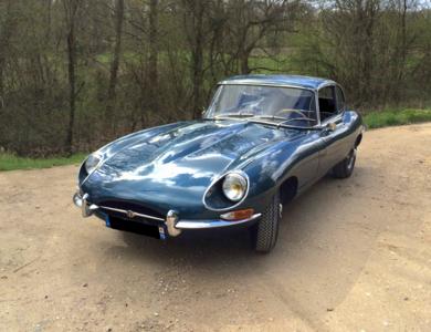 Jaguar Type E Série 1.5 Coupe à Paris (13ème arr.)