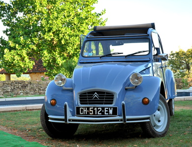 Citroen 2cv à Prudhomat (Lot)