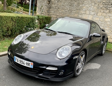 Porsche 911 Type 997 Turbo à Saint-Martin-des-Champs (Manche)