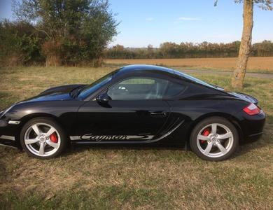 Porsche Cayman S à Landevieille (Vendée)