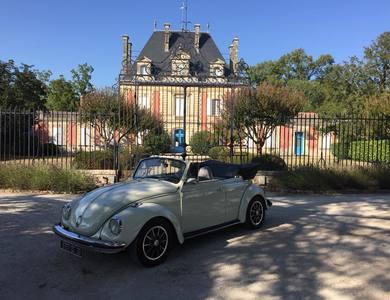 Volkswagen (vw) Coccinelle Cabriolet 1302 Ls à Langon (Gironde)