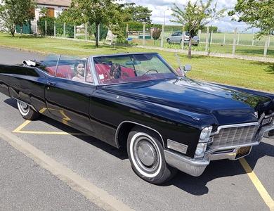 Cadillac Deville à Le Malesherbois (Loiret)