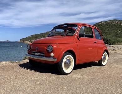 Fiat 500 à Porto-Vecchio (Corse-du-Sud)