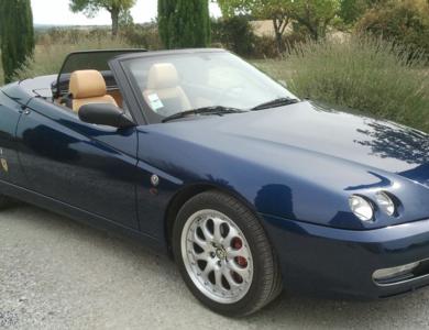 Alfa Romeo Spider 2.0 à Orgeval (Yvelines)