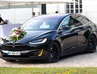 Tesla Model X P90dl à Méré (Yvelines)