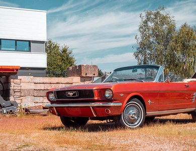 Ford Mustang Cabriolet V8 (1ère Gen) à Fegersheim (Bas-Rhin)