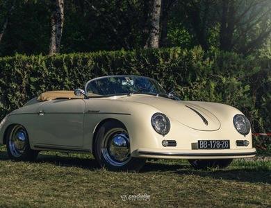 Porsche 356 Speedster à Lemberg (Moselle)