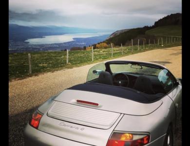 Porsche 911 Type 996 Cabriolet Carrera 4 à Annemasse (Haute-Savoie)