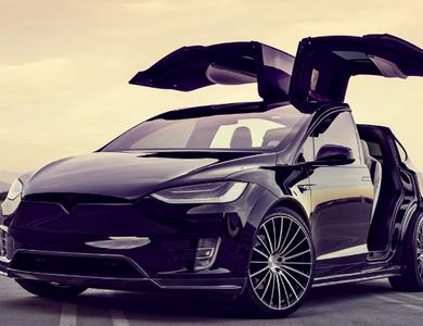 Tesla Model X P100d à Bezons (Val-d'Oise)
