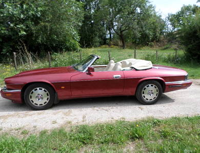 Jaguar Xjs à Cahors (Lot)