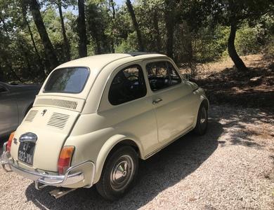 """Fiat 500 """"luxo"""" à Néoules (Var)"""