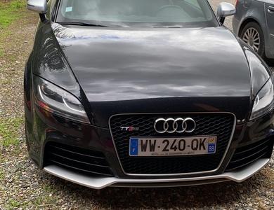 Audi Ttrs à Sainte-Foy-de-Peyrolières (Haute-Garonne)