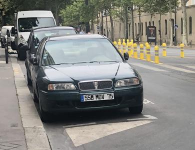 Rover 620 à Paris (5ème arr.)