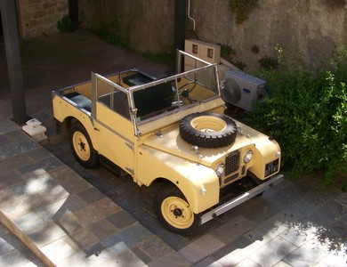 Land Rover Serie 1 à Saint-Florent (Haute-Corse)