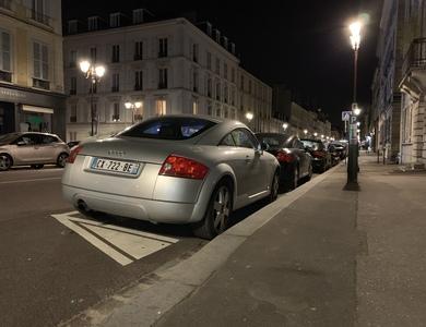 Audi Tt à Versailles (Yvelines)