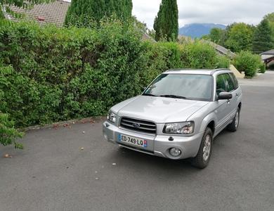 Subaru Forester à La Roche-sur-Foron (Haute-Savoie)
