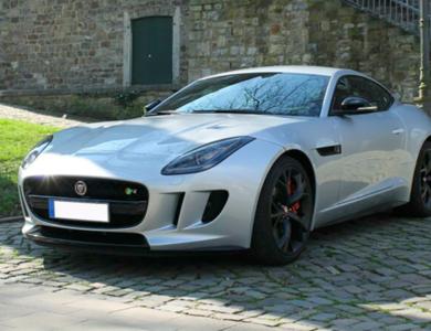 Jaguar F-type à Rennes (Ille-et-Vilaine)