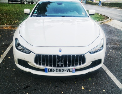 Maserati Ghibli à Ézanville (Val-d'Oise)