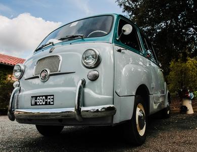 Fiat 600 Multipla à Nice (Alpes-Maritimes)