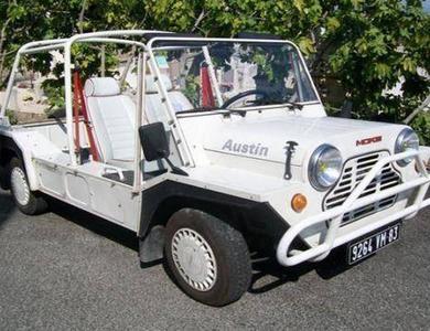 Austin Mini Moke à Grimaud (Var)