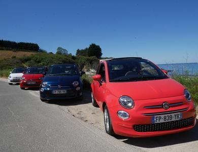 Fiat 500 à Le Palais (Morbihan)
