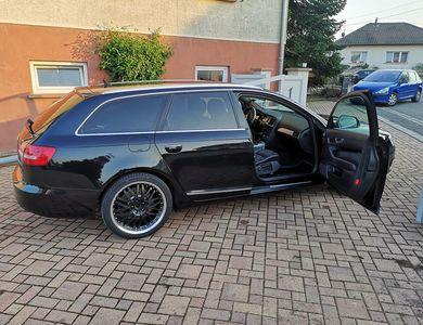 Audi A6 à Wittelsheim (Haut-Rhin)