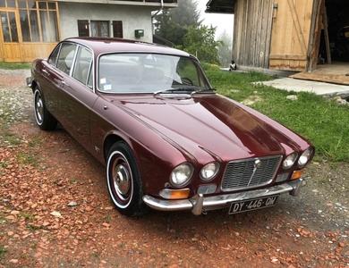 Jaguar Xj6 à Cordon (Haute-Savoie)