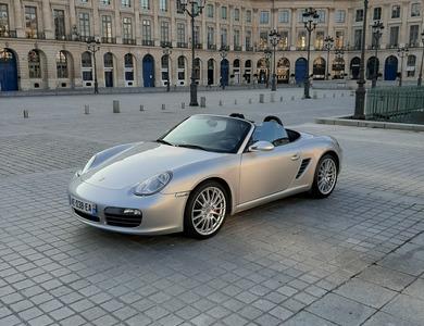 Porsche Boxster S 3.4 à Saint-Maur-des-Fossés (Val-de-Marne)